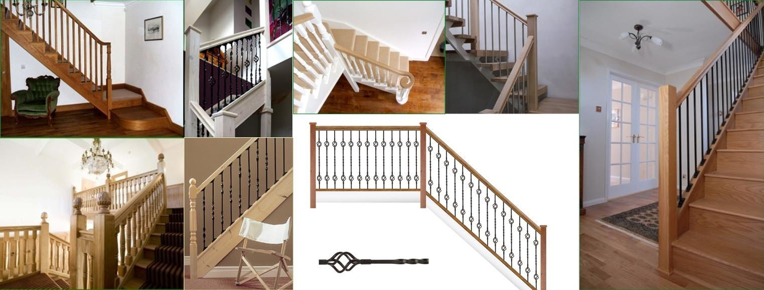 Balusters for staircases for your brand new stairs