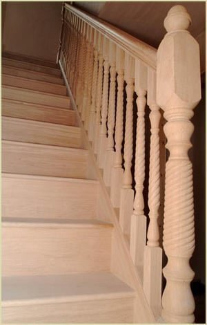 Staircase Newel Cap - Acorn Newel Cap