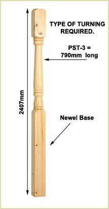 selecting newel base size