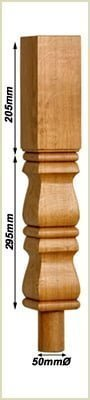 staircase newel posts - provincial newels
