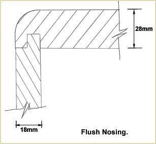 Flush Nosing.