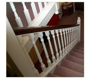 staircase refurbishments - renowden refurbishment before