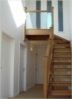 staircase refurbishments - fron dirion after