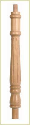 PST5 Fluted Georgian Newel Post