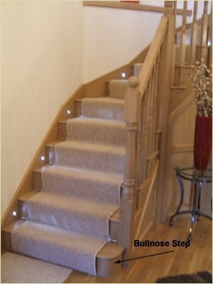 Staircase Studies - Bullnose Step