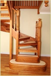 Staircase Glossary - Open Risers