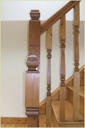 Staircase Glossary - Finial