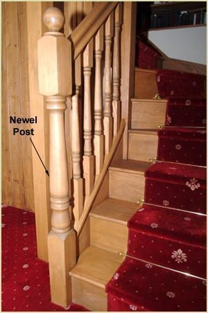 Staircase Glossary - Newel Post