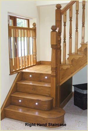 Staircase Glossary - Stair Direction