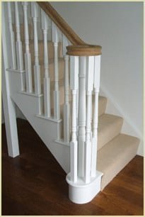 Staircase Glossary - Curtail Step