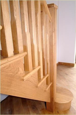 Staircase Glossary - Cut String Staircase