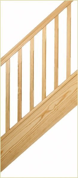 spindles - southern yellow pine