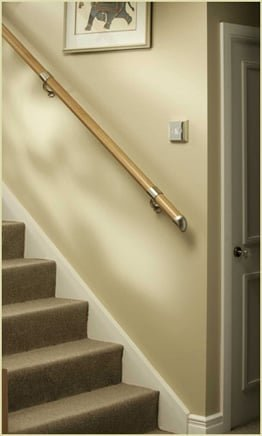 fusion wall mounted handrails