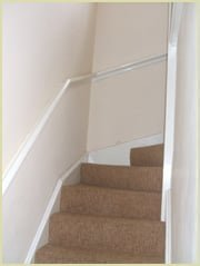 pigs ear handrail (wall mounted handrails)
