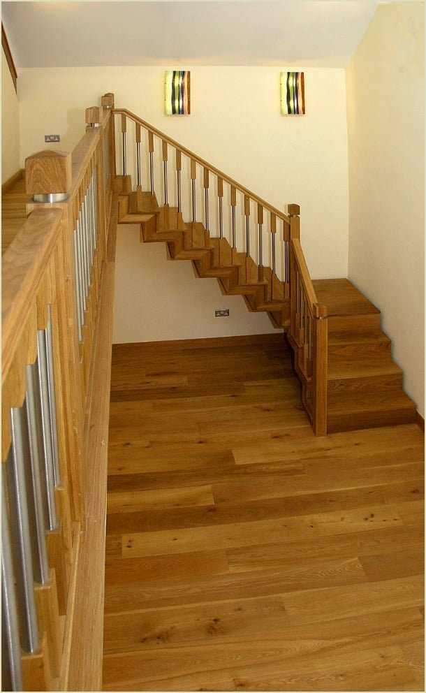 because we make staircases like - the old library refurbishment