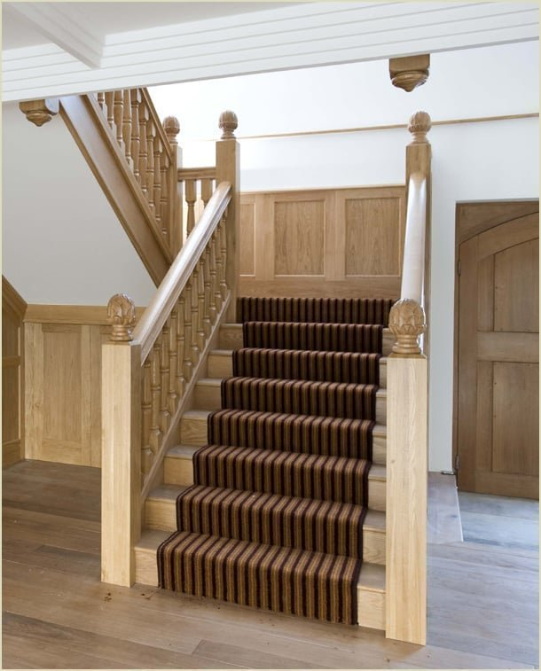 because we make staircases like - the grand oak staircase