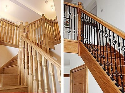 Pear Stairs spindles