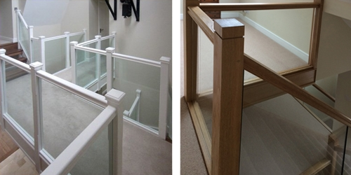 Caring for a glass balustrade - cleaning and maintaining glass panel handrails