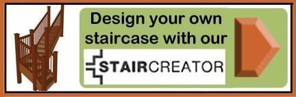 Visit our staircreator tool to design a new staircase