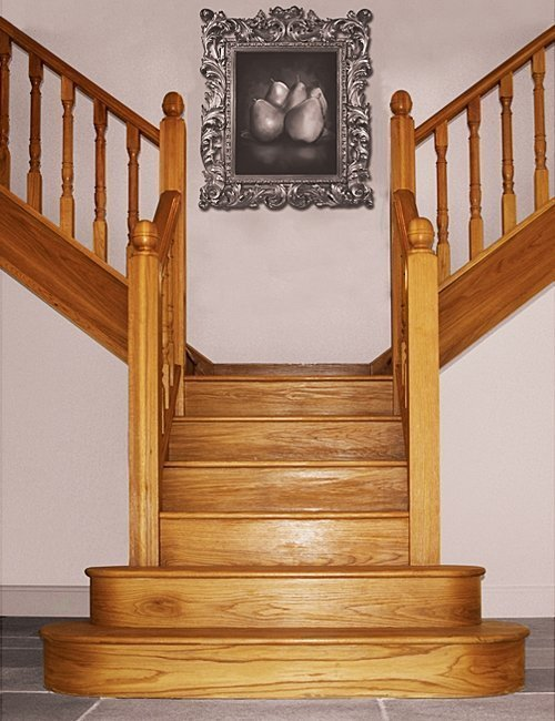 T Shaped Staircase By Pear Stairs