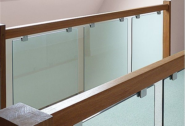Pear Stairs Handrail And Glass Panels
